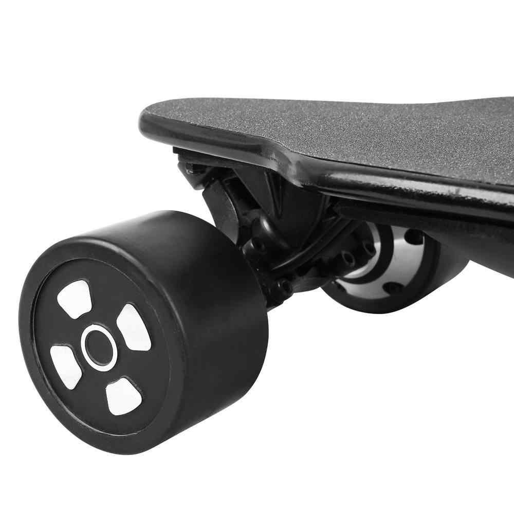 SYL-07 Elettrico di Skateboard Doppio Motore 600W * 2 Max Velocità di 40Km/H con Telecomando di Controllo E di Scooter 6.6AH Batteria scooter Elettrico