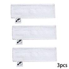 3 шт. пароочиститель половая тряпка тормозные колодки для Karcher Easyfix SC1 SC2 SC3 SC4 SC5 пылесос насадка на швабру для уборки из колодки практичная нас...