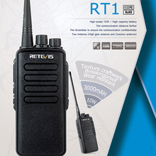 Retevis RT1 10W Walkie Talkie Radio VHF UHF Radio Station Scrambler 1750Hz toneTwo Way Radio Portable Waterproof IP54