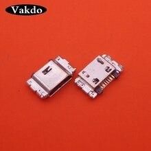 1000pcs/lot Micro USB Charging Port Jack Connector For Samsung J5 SM J500 J1 SM J100 J100 J500 J5008 J500F J7 J700 J700F J7008