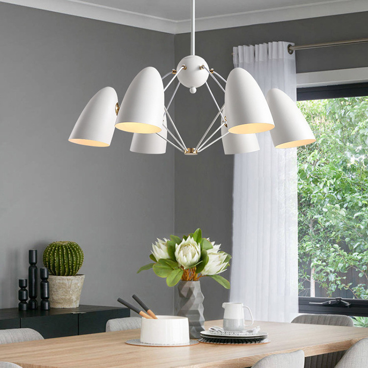 Modern Glass Ball Led Pendant Lights Magic Bean Pendant Lamp Nordic Bedroom Living Room Restaurant Bar Kitchen Led Hanging Lamp