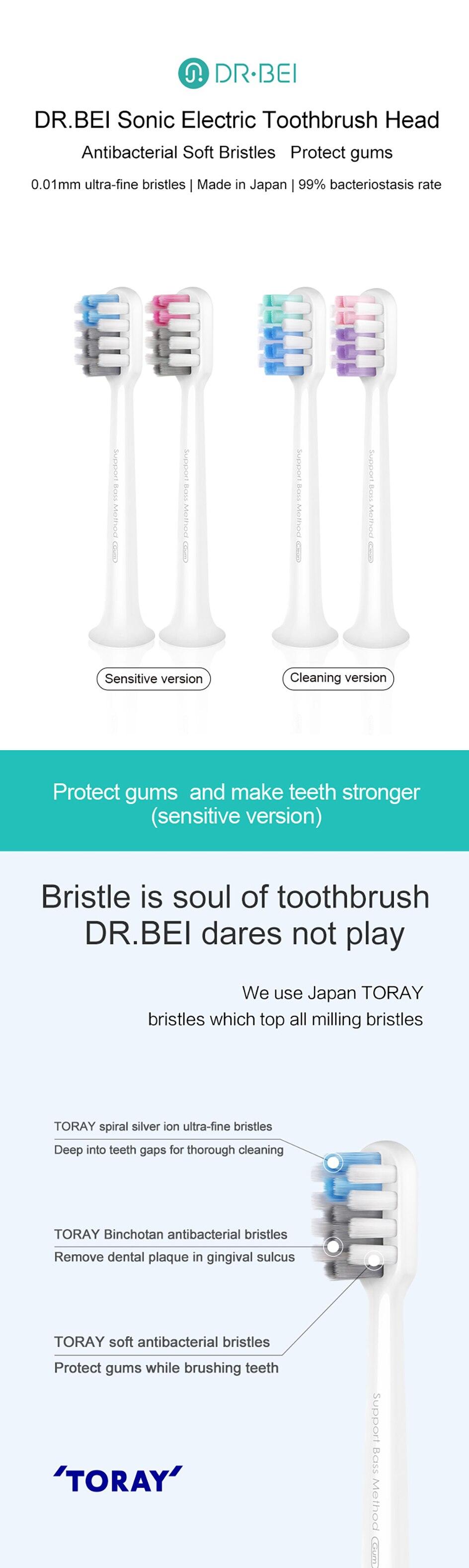 para dr. bei oral care dentes limpeza