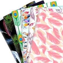 50*145cm pena puro 100% algodão ou poliéster algodão material retalhos costura tecidos colcha bordado diy pano