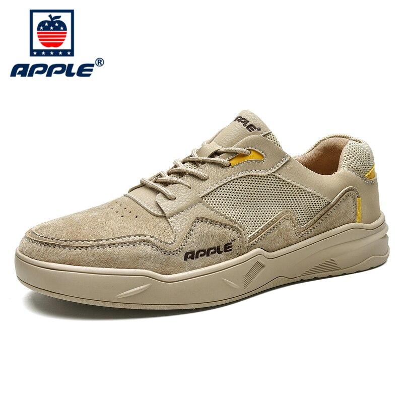 Купить мужские классические кроссовки apple брендовая модная летняя