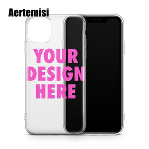 Image 1 - Aertemisi Create Your Own Custom Clear TPU Phone Case Cover for iPhone 5 5s SE 6 6s 7 8 Plus X Xs XR Max 11 Pro Max