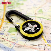 NEW design lightweight Carabiner style compass with luminous