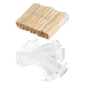 50 шт., белые складные сумочки из органзы на шнурке, вечерние подарочные сумки для свадебных торжеств, 50 шт., вентиляторы из белой ткани и бамб...