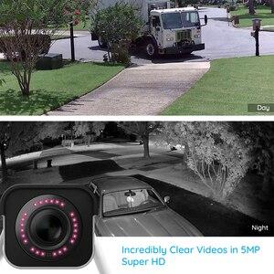 Image 4 - Reolink RLC 511W 2 חבילה WiFi מצלמה 2.4G/5G 4MP/5MP Bullet IP מצלמה 4x זום אופטי SD כרטיס חריץ ראיית לילה 5MP מצלמה
