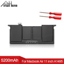 PINZHENG 5200mAh Laptop Battery For Apple MacBook Air 11 inch A1465 Mid 2012 2013 Early 2014 A1370 Mid 2011 A1406 A1495 Battery
