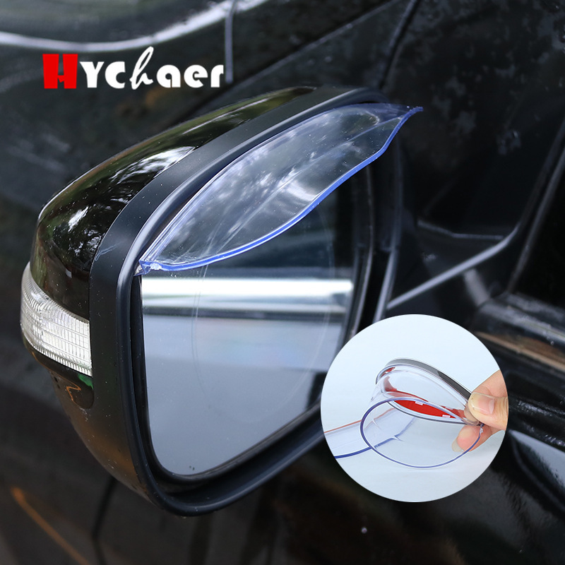 1 Pair Transparent Universal Rear View Side Mirror Rain//Snow Shield Car Styling Rearview Mirror Rain Eyebrow Shield Cover For Car//Truck
