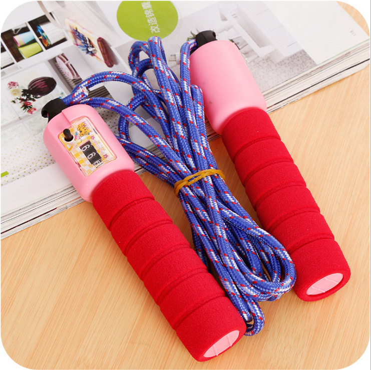 Count Jump Rope Sponge Set With Numbers Jump Rope The Academic Test For The Junior High School Students Game Athletic Jump Rope