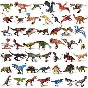 Image 1 - Oenux מקורי פרהיסטורי עולם דינוזאור טירנוזאורוס Therizinosaurus ספינוזאור פעולה דמויות דינוזאורים היורה דגם צעצועים