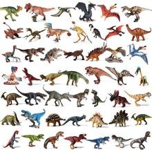 Oenux figuras de acción de dinosaurios de Jurassic, modelo Original de dinosaurios del tiranosaurio Therizinosaurus Spinosaurus