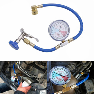 Car Air Conditioning Hose R134A Refrigerant Open Valve Charging Hose Measuring Recharge Adapter Air Conditioner Car Gauge Valve(China)