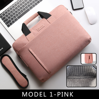 Laptop Bag case 13.3 14 15.6 17.3 Inch Waterproof Notebook Bag for Macbook Air Pro 13 15 Computer Shoulder Handbag Briefcase Bag 11