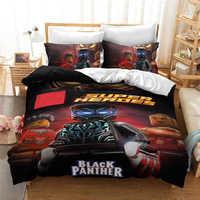 3D Luxury Batman Bedding Set Cartoon The Avengers Duvet Cover Set Europe/USA/Australia Queen King Children Bed Linen Bedclothes