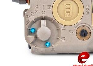 Image 5 - אלמנט האחרון Airsoft לאמפה פנס LA 5C PEQ UHP מראה Ver ירוק לייזר IR ציד אור EX 419 דה