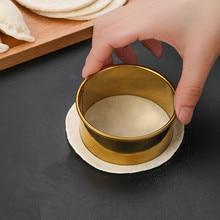3pcs /Set Dumplings Wrappers Molds Stainless Steel Round Set  Cutter Maker  Wrapper Dough Cutting Accessories Kitchen Gadget