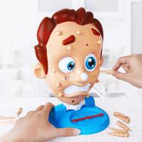 Juguetes Divertidos juguete de apretón que aparece Pete juegos de mesa para padres e hijos rociador de agua novedad AGS para regalo de niños