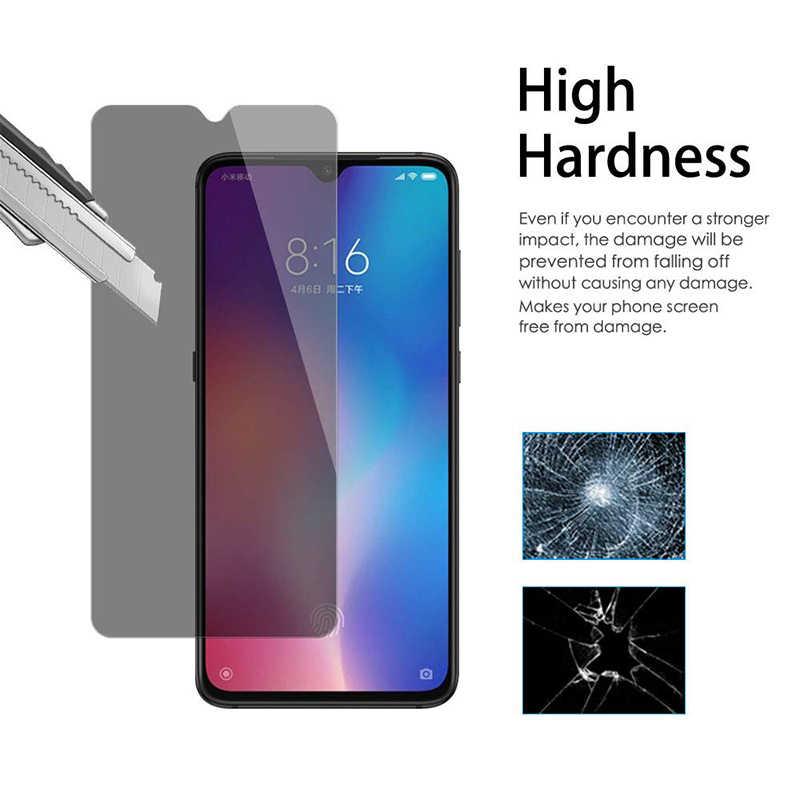 Telepon Kaca 9H Anti-Spy Magic Kebijakan Pelindung Layar untuk Meizu Note 8 9 Anti Gores untuk Meizu 16 16S 16X PRO 5 6 7