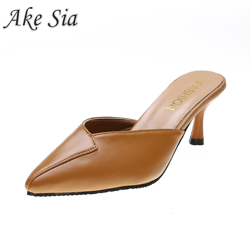 2019 Women Sexy High Heel Leather Non-slip Shallow Mouth Stiletto Heels PU Shoes For Formal Dress Party Pu High Heels