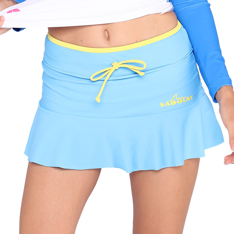 Sabolay SABOLAY Surfing Suit Split Type Short Skirt Beach Shorts Waterproof Mother Swimming Trunks Vk012