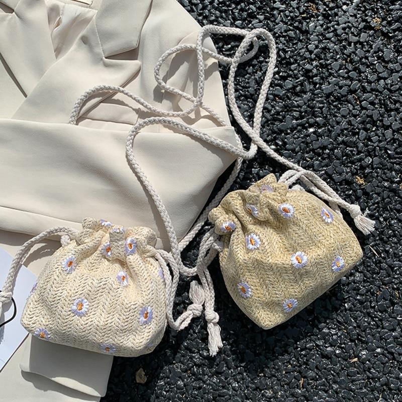 Cute Straw Travel Bag