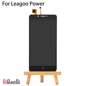 Image 2 - AiBaoQi New Original 5.0 inch Touch Screen+1280x720 LCD Display Assembly Replacement For Leagoo KIICAA Power Phone