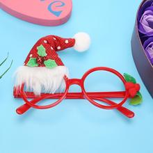 New-Year-Decor Christmas-Decorations Toy Glasses Frame Snowman Santa-Claus Kids
