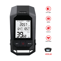 shanren wireless cycling odometer bicycle computer road mtb bike race watch speed cadence heart rate sensor power meter BLE Lamp
