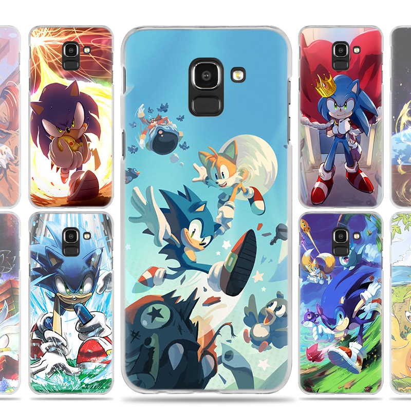 Sonic the Hedgehog Case Cover for Samsung Galaxy A50 A80 A70 A60 A40 A30 A20 A20e A10 A9 A7 A6 Plus 2018 Note 8 9 10 Pro