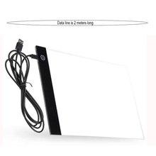 Tableta de dibujo A4 Led, almohadilla gráfica Digital, caja de luz Led Usb, tablero de copia, mesa de escritura de arte gráfico electrónico