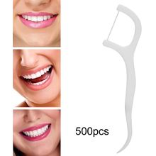 Stick Toothpick-Flosser Removal-Floss Dental-Tools-Sets Oral-Care-Tool Teeth-Stain 500pcs