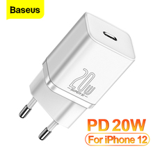Baseus PD 20W USB C Charger Quick Charge 3.0 QC3.0 Fast Charging For iPhone 12 Pro Xiaomi Samsung USB Type C Wall Phone Charger