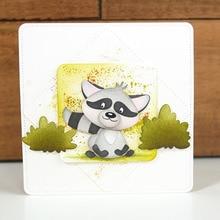 JC Metal Cutting Dies for Scrapbooking Dog Fox Die Cut Card Make Stencil Craft Model Album Background Decoration 2019 New