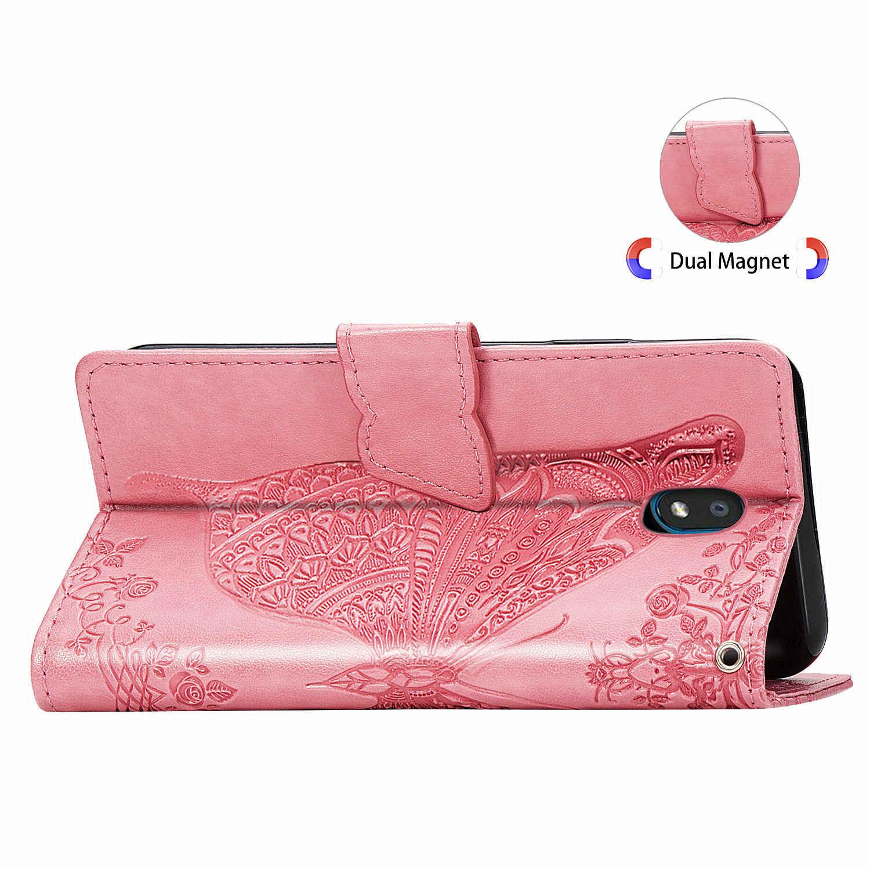 ل Coque LG K30 2019 LMX320QMG Case K30 2019 غطاء فاخر الوجه بولي PU فتحات بطاقة جلدية المحفظة حامل حقيبة لجهاز LG X2 2019 الغلاف