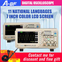 Oscilloscope numérique Portable à deux canaux de A-BF 200M 1G échantillonnage écran couleur de 7 pouces grandes entreprises centrales