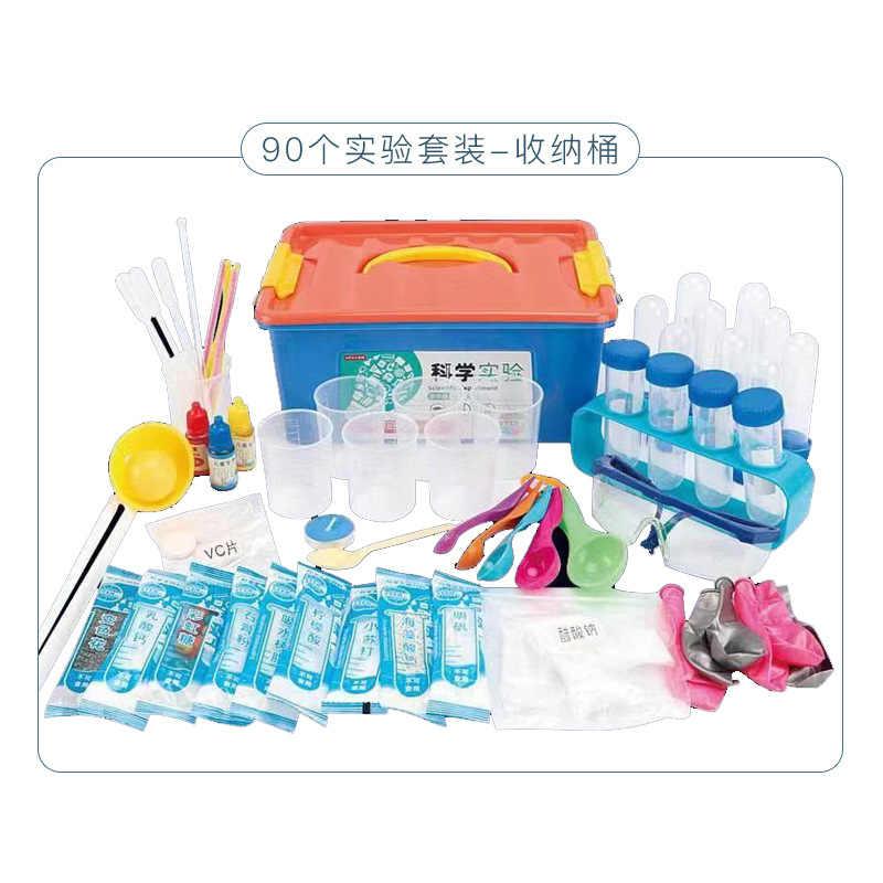 الأطفال متعة العلوم تجربة لعبة معدات الجذعية مجموعة رياض الأطفال الصغار المواد المصنوعة يدويا