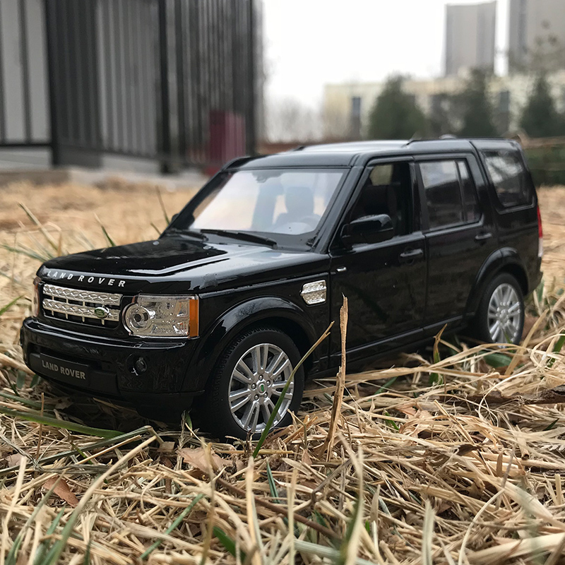 Welly 1:24 Land Rover Discovery 4  alloy car model Diecasts & Toy Vehicles Collect gifts Non-remote control type transport toy