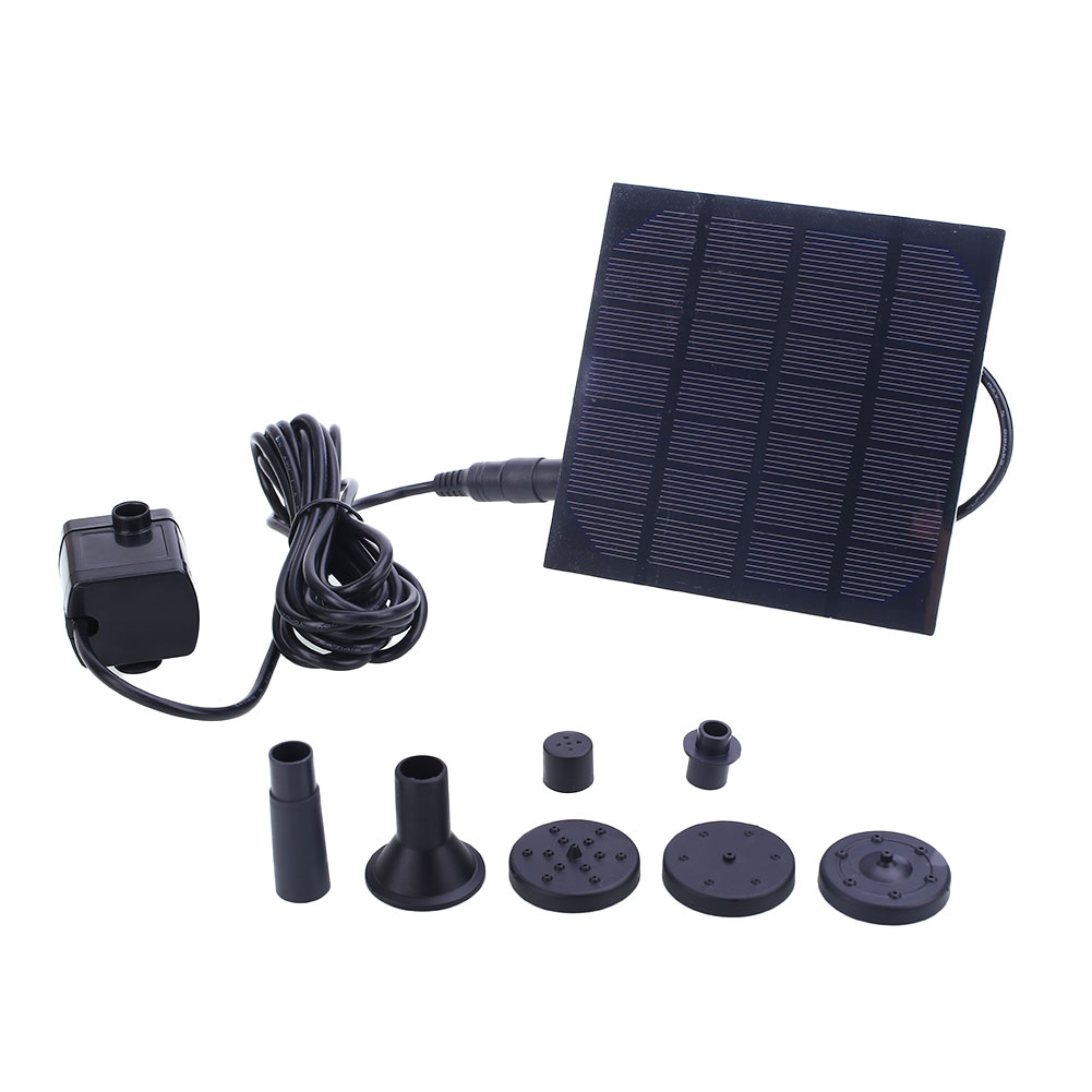 Waterfalls 20000 Hours Solar Garden Pond Fountain 120cm Water Pump Power Pool Kit Watering Solar Water Fountain Home Fish
