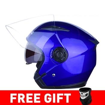 JIEKAI Motorcycle Helmet Open Face Helmets Motocicleta Cascos Para Motorbike Scooter Riding Safety Helmet Cascos Para Moto 19