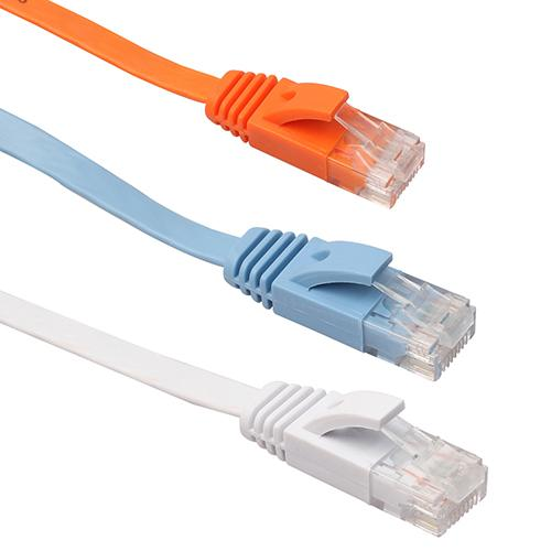 Length 20m CAT6 Ultra-Thin Flat Ethernet Network LAN Cable