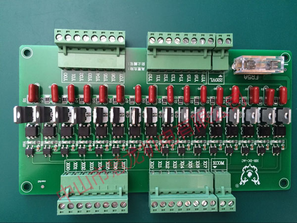 Conversion Board 16-bit Voltage to Horizontal Vertical Injection Molding Machine Accessories 24 to 220V