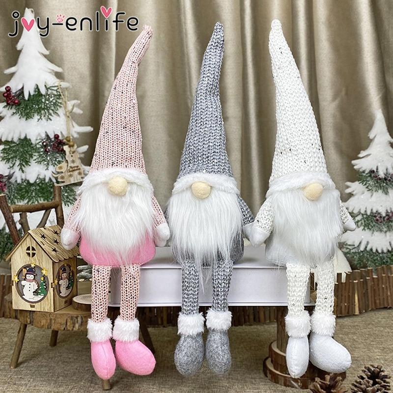 1 stücke Weihnachten Gesichtslosen Puppe 2020 Frohe Weihnachten Dekorationen Für Zu Hause Weihnachten Ornament Weihnachten Geschenke Natal Frohes Neues Jahr 2021