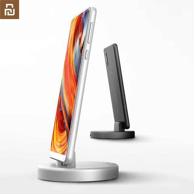 youpin IQUNIX Mobile phone stents Type C 18W Quick charging holders Desktop phone holder Support the charging for Samsung Huawei