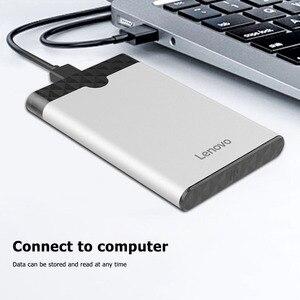 Lenovo S-03 2,5 дюймов USB 3,0 жесткого диска SATA HDD SSD коробка портативный 5Gbps жесткий диск внешний жесткий диск мобильный чехол Корпус для Windows XP/7/8