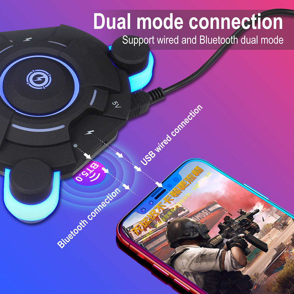 Bluetooth Gaming Keyboard Mouse Converter Game Adapter For IOS Android System X-Best
