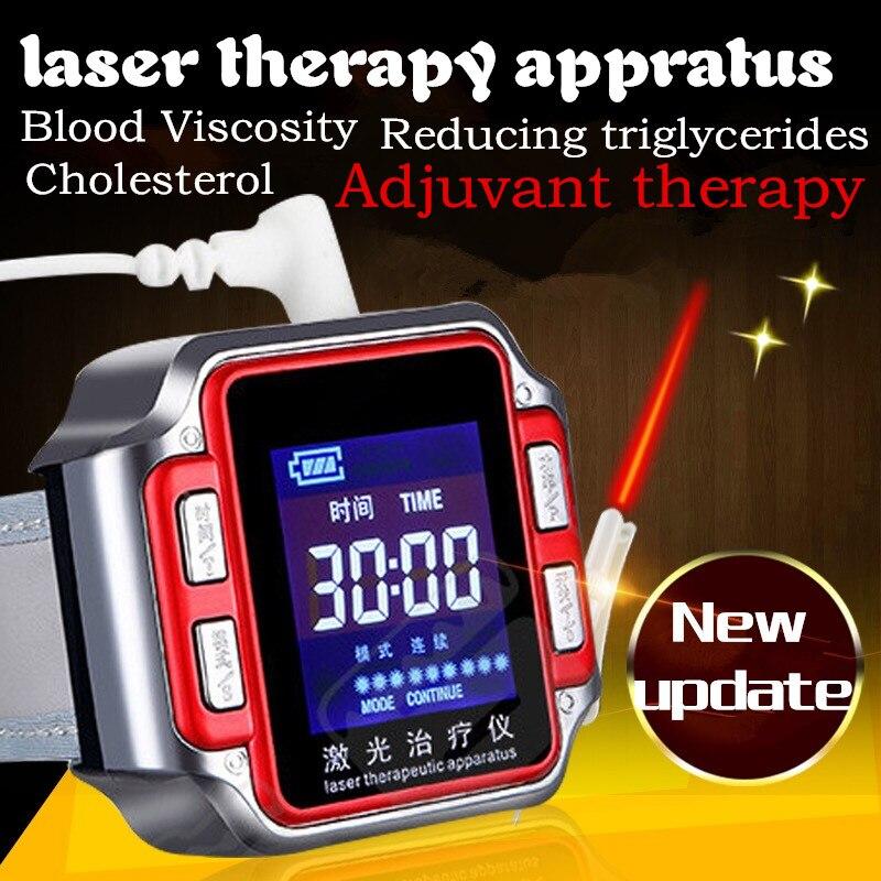 Laser montre intelligente Instrument thérapeutique semi-conducteur poignet hématologie soins de santé protection de santé intelligente