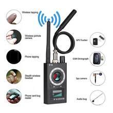 K18 multi-função anti detector de bug mini espião de áudio-câmera gsm localizador gps localizador de sinal de lente rf rastreador detectar câmera sem fio