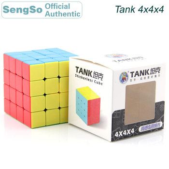 ShengShou Tank 4x4x4 Magic Cube 4x4 Cubo Magico Professional Neo Speed Cube Puzzle Antistress Toys For Children